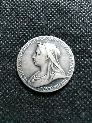 1837-1897 Queen Victoria Silver Diamond Jubilee Medallion.