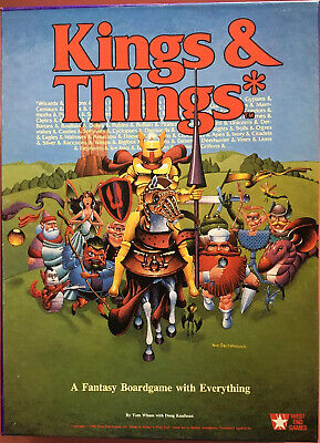 Kings and Things Board Game - Games Workshop - Used Complete Excellent Condition