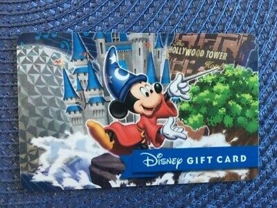 Mickey Sorcerer Disney gift card collectible only-  no $ value or points on it