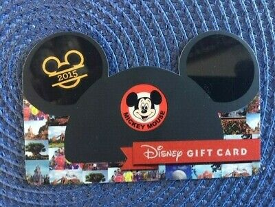 Mickey Ears cap Disney gift card collectible only-  no $ value or points on it