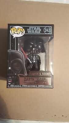 Funko Pop! Lights and Sound #343 Star Wars - Darth Vader!!!!!