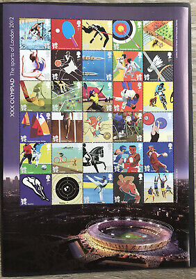 Stamps Commemorating London 2012 Olympics and Paralympics
