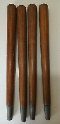 """Vintage 1950/60s DANSETTE LEGS Record Player/Coffee Table Brown Wooden Screw 14"""""""