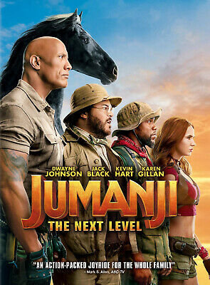 Jumanji The Next Level DVD - New and Unopened!