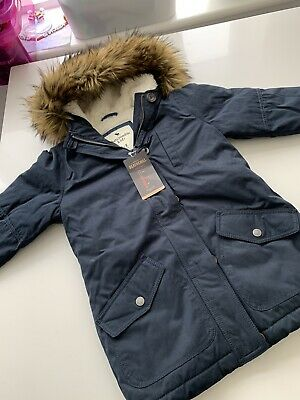 Girls Abercrombie Coat Age 7-8 Years New With Tags