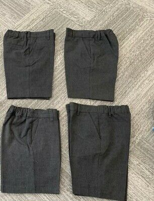 Boys Marks and Spencers School Shorts - Bundle - Size 4-5