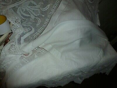 Victorian/Edwardian lace tablecloth