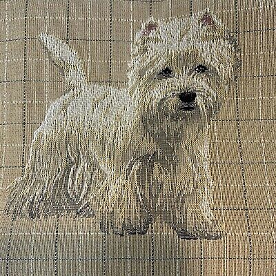 Westie West Highland Terrier Dog MADE IN BRITAIN Draught Excluder Draft Stopper