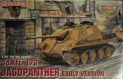 Dragon 1/35 Scale Model Kit #6245 JAGDPANTHER (NORMANDY CAMPAIGN)