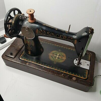 Antique Singer 66K Hand Crank Sewing Machine c1919 - Local Collection Preferred