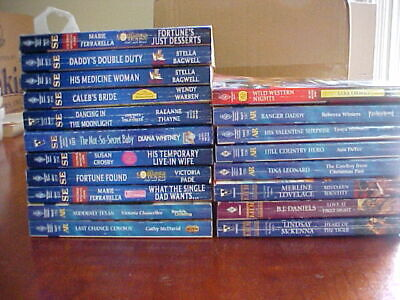 LOT of 19 HARLEQUIN BOOKS