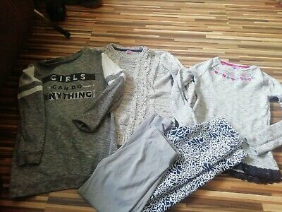 Job Lot 5 Girls 9-10 Years Jumpers Sweatshirt Tops Leggings F&F Next Miss Evie