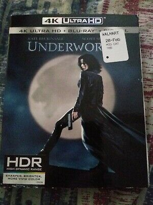 Underworld 4k + bluray + digital NEW with OOP slipcover