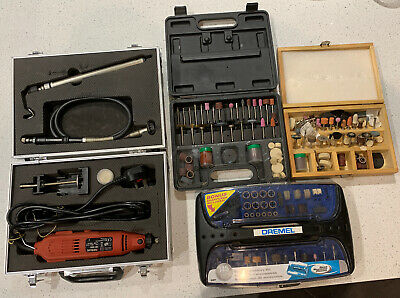 Dremel Super Accessory Kit With Power Tool And 2 Other Unbranded Accessory Sets