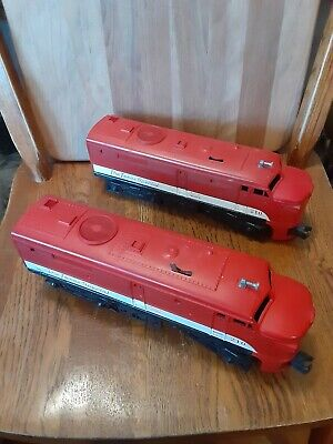 Lionel 210 Texas Special Alco Aa Diesel And Dummy Locomotive 1958