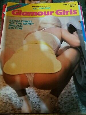 Vintage adult glamour magazine. Glamour Girls. Not Mayfair. Tracey Neve.