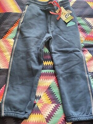Bnwt Kite Blue Trousers Joggers Age 5 Cloud Jogging Bottoms Leggings Scandi Girl