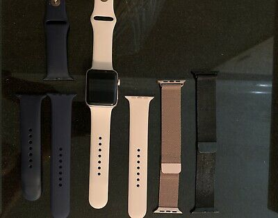 Apple Watch Series 2 Rose Gold 42mm With Extra Bands