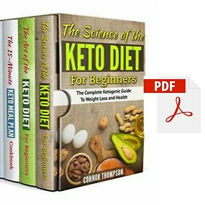 The Complete Keto Diet Plan for Beginners – 4 Book Set – PDF Fast Delivery
