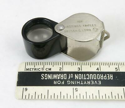 Bausch & Lomb 10x Hastings Triplet Loupe / Magnifier