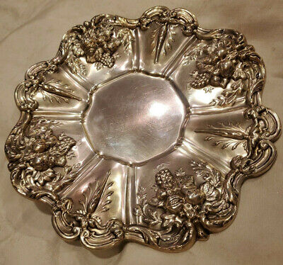 Reed & Barton Francis I Sterling Silver Tray Beautiful Piece 11.5 Inch