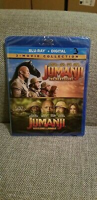 JUMANJI Welcome to the Jungle Next Level 2-Movie Collection (Blu-Ray & Digital)