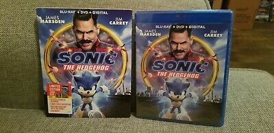 Sonic The Hedgehog ( BLU-RAY + DVD +  DIGITAL) LIMITED EDITION Fast Shipping