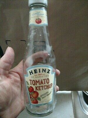 Heinz ketchup  limited edition bottle