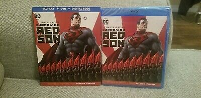 Superman: Red Son (Blu-Ray+DVD+Digital) NEW Same day Shipping read!!!