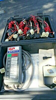 GP Electronic Ignition Tester with 8 Adapters, Instructions, Old School