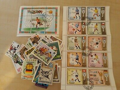 Football related stamps good condition