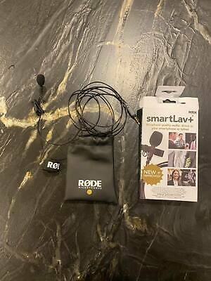 Rode Smartlav+ Lavalier Microphone for Smartphones and Tablets