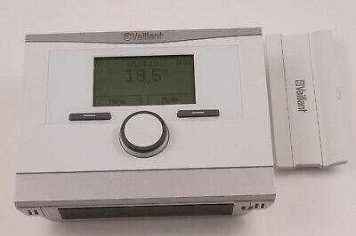 Vaillant CalorMatic 350 F Remote Control Room Thermostat + Wall Mount Stand
