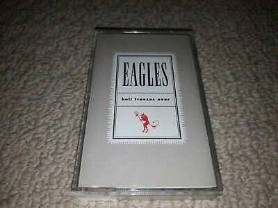 The Eagles - Hell Freezes Over Cassette audio Tape  Excellent Condition