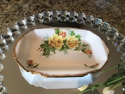 Royal Albert Yellow Tea Rose Tray