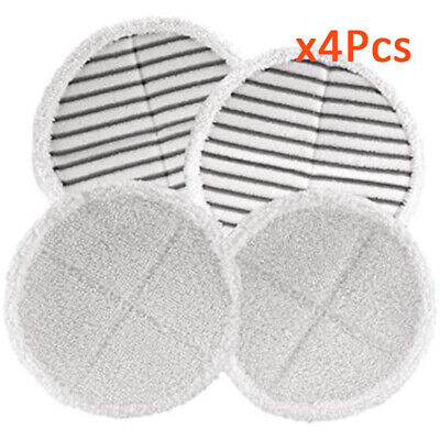 4* Mop Pads Replacement For Bissell Spinwave 2039 2124 Powered Hard Floor Mop