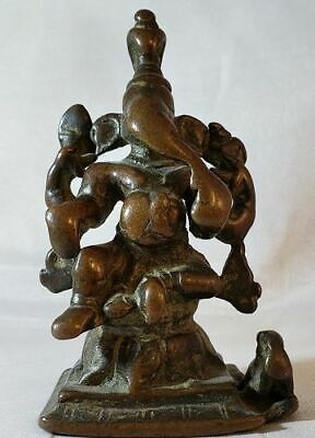 Antique Hindu Bronze Ganesh