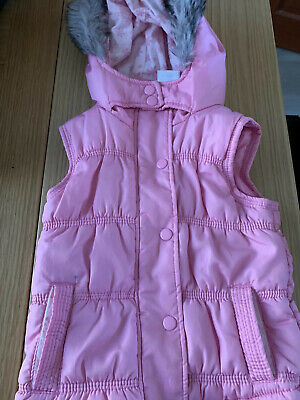 Girl's Pink Bodywarmer aged 3-4 Years