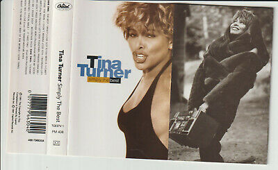 "Tina Turner - "" Simply The Best ""- Cassette Tape Album 1991"