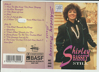 "Shirley Bassey - "" Still ""- Cassette Tape Album"