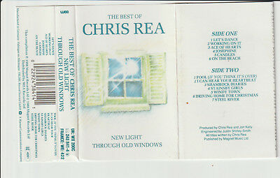 "Chris Rea - "" The Best Of  "" - Cassette Tape Album -1988"