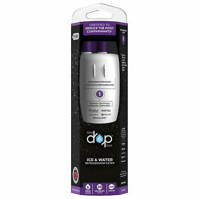 EveryDrop by Whirlpool Refrigerator Water Filter 1 (Pack of 1) (Packaging may ..