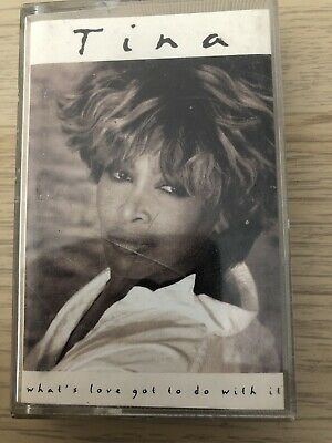 Tina Turner What's Love Got To Do With It Cassette Album