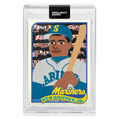 Topps PROJECT 2020 Card 88 - 1989 Ken Griffey Jr. by Keith Shore