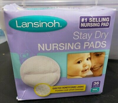 Lansinoh Stay Dry Disposable Nursing Pads - (36 count)