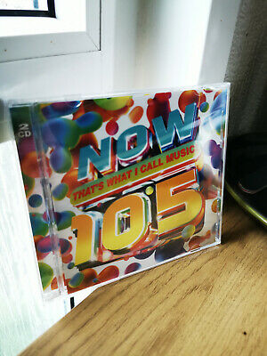 Now That's What I Call Music 105 (Now 105) - Brand New & Sealed