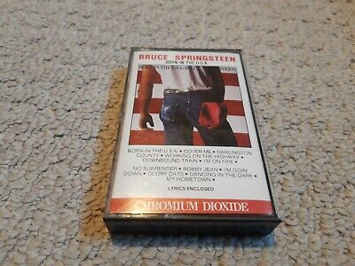 Bruce Springsteen - Born In The USA Cassette great condition