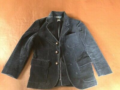Polo Ralph Lauren Size 6 Boys Blue Cord Jacket/Blazer