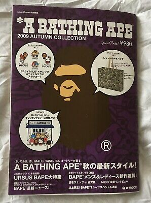 A Bathing Ape E-Mook 2009 Magazine With Bag And Stickers Brand New