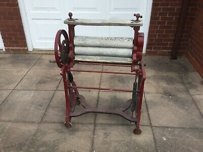 Scales Cast Iron Washing Mangle